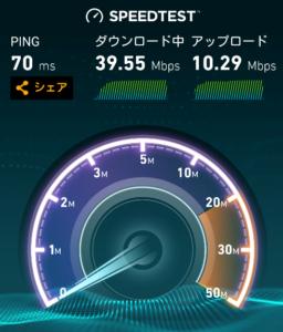 WiMAX実測値